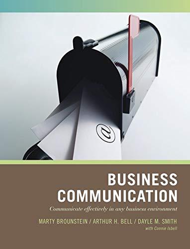 9780471790778: Business Communication