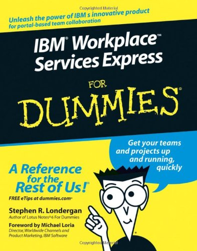 9780471791317: IBM Workplace Services Express For Dummies