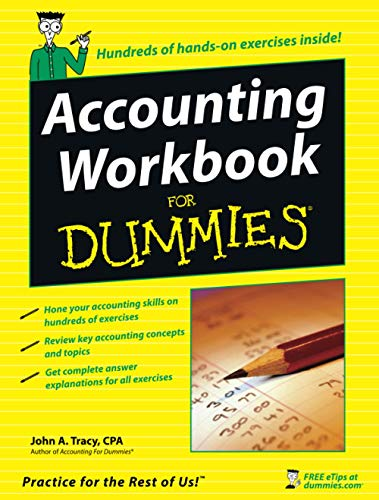 9780471791454: Accounting Workbook For Dummies