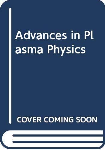 9780471792031: Advances In Plasma Physics, Volume 3