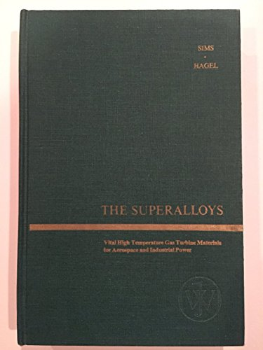 9780471792079: Superalloys (Science & Technology of Materials)
