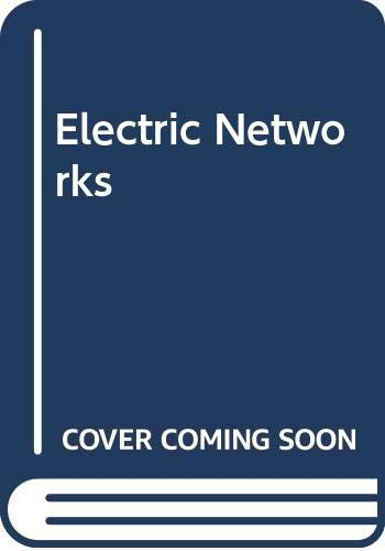 9780471794219: Electric Networks