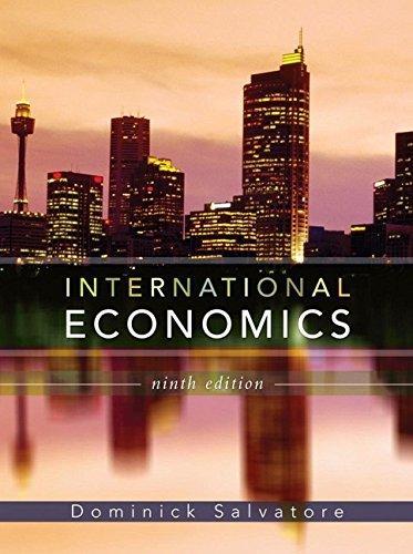9780471794684: International Economics