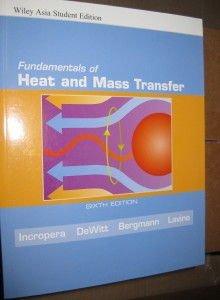 9780471794714: Fundamentals of Heat and Mass Transfer