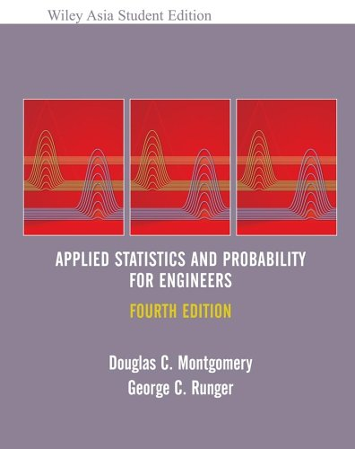 9780471794738: WIE ASE Applied Statistics and Probability for Engineers
