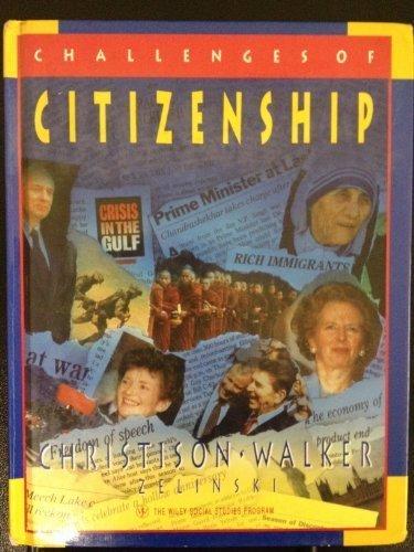 The Challenge of Citizenship: Christison, Matt