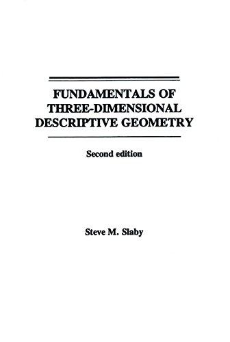 9780471796213: Fundamentals of Three Dimensional Descriptive Geometry