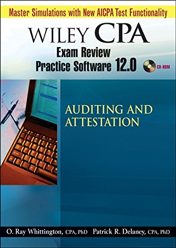 9780471797777: Wiley CPA Examination Review Practice Software-Audit 12.0