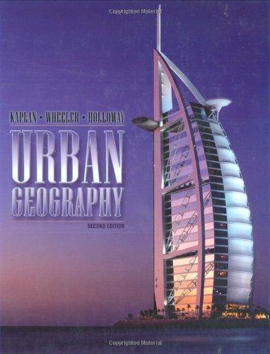 9780471798156: Urban Geography
