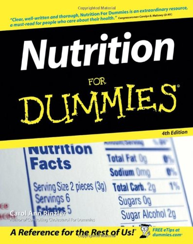 9780471798682: Nutrition For Dummies