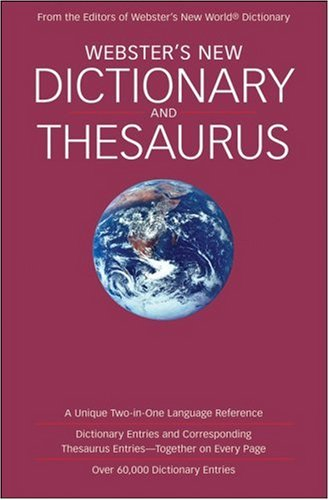 9780471799320: Webster's New Dictionary and Thesaurus