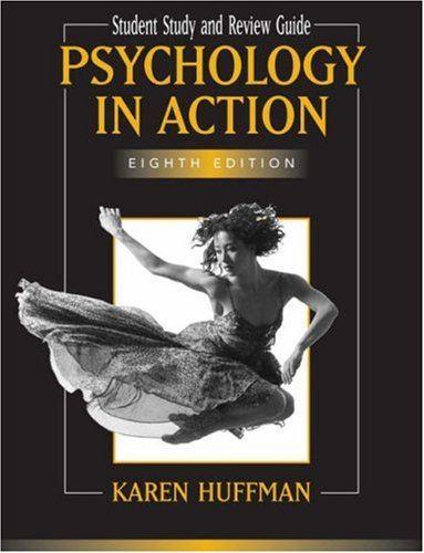 9780471799436: Psychology in Action, Study Guide