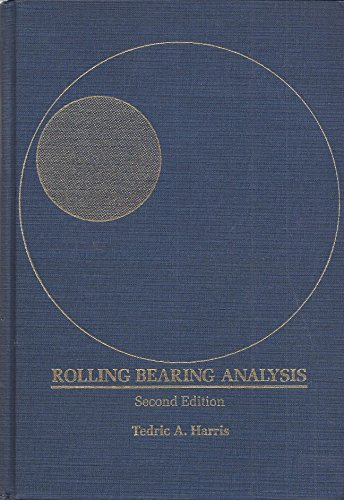 9780471799795: Rolling bearing analysis