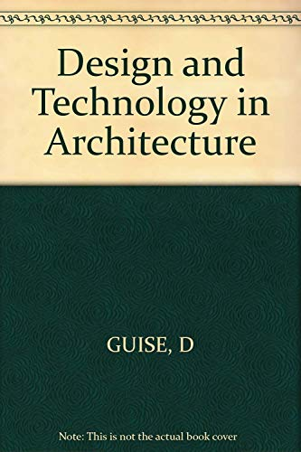 9780471799849: Design and Technology in Architecture