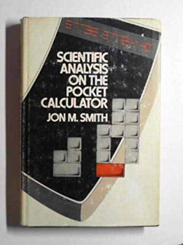 9780471799979: Scientific Analysis on the Pocket Calculator