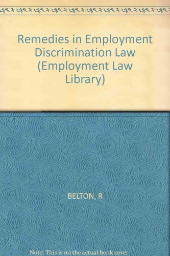 9780471800514: Remedies in Employment Discrimination Law (Employment Law Library)
