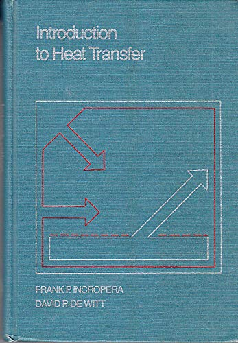 Introduction to Heat Transfer with IHT2. 0/FEHT: Frank P. Incropera;