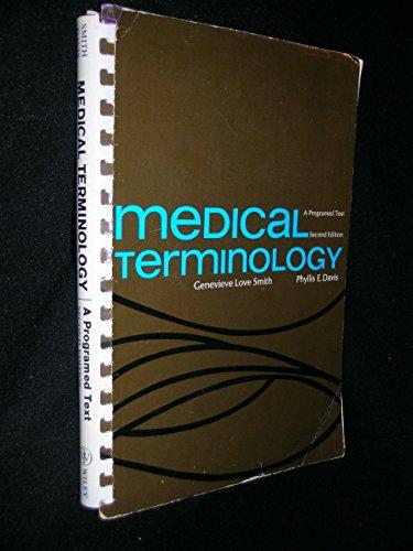 9780471801962: Medical Terminology: A Programmed Text
