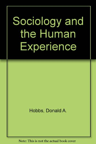 9780471802112: Sociology and the Human Experience