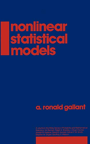 9780471802600: Nonlinear Statistical Models