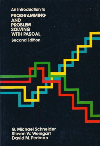 9780471804475: Introduction to Programming and Problem Solving with PASCAL