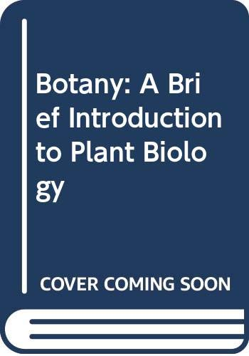 9780471805137: Botany: A Brief Introduction to Plant Biology