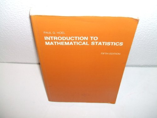 9780471805304: Introduction to Mathematical Statistics (Wiley Series in Probability & Mathematical Statistics)