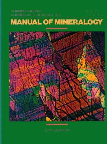9780471805809: Manual of Mineralogy (after James D. Dana)