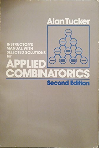 9780471806783: Instructor's Manual with Selected Solutions for