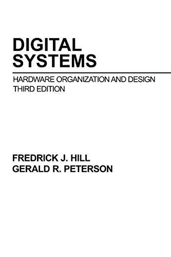 9780471808060: Digital Systems: Hardware Organization and Design
