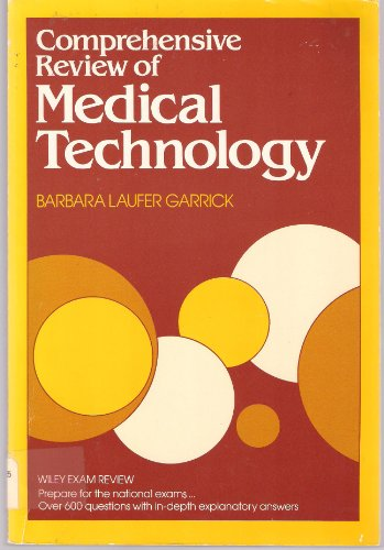 9780471808183: Comprehensive Review of Medical Technology (A Wiley medical publication)