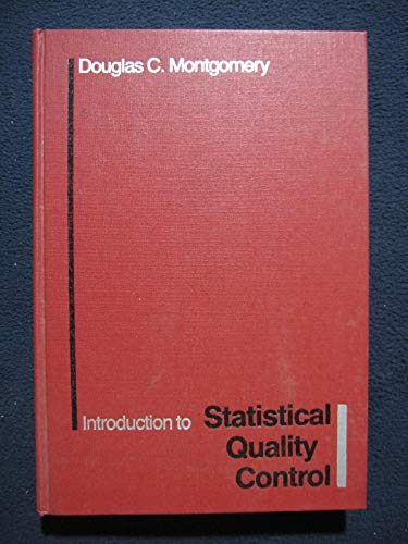 9780471808701: Introduction to Statistical Quality Control