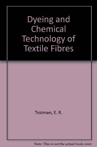 9780471809104: Dyeing and Chemical Technology of Textile Fibres