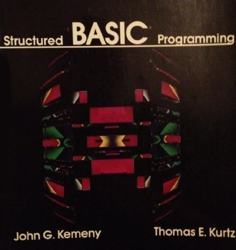 9780471810872: Structured BASIC Programming