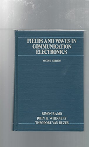 9780471811039: Fields and Waves in Communication Electronics