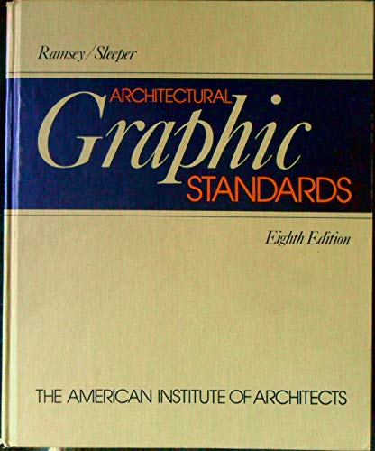 9780471811480: Architectural Graphic Standards, 8th edition