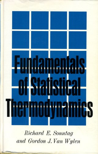 9780471813606: Fundamentals of Statistical Thermodynamics (Series in Thermal and Transport Sciences)