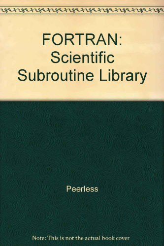9780471814573: FORTRAN: Scientific Subroutine Library