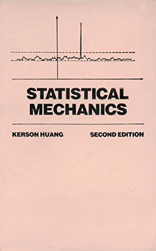 9780471815181: Statistical Mechanics (Physics)