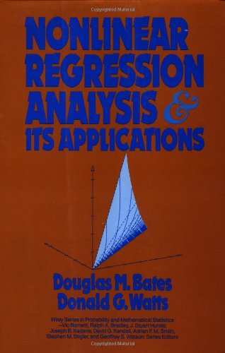 9780471816430: Nonlinear Regression Analysis and Its Applications (Wiley Series in Probability and Statistics)