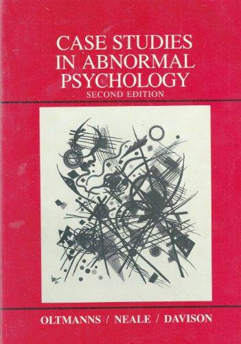 9780471816638: Case Studies in Abnormal Psychology - AbeBooks