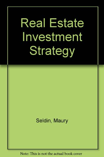 9780471816867: Real Estate Investment Strategy