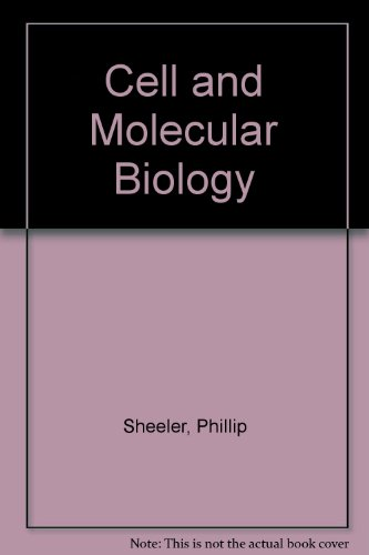 9780471817581: Cell and Molecular Biology