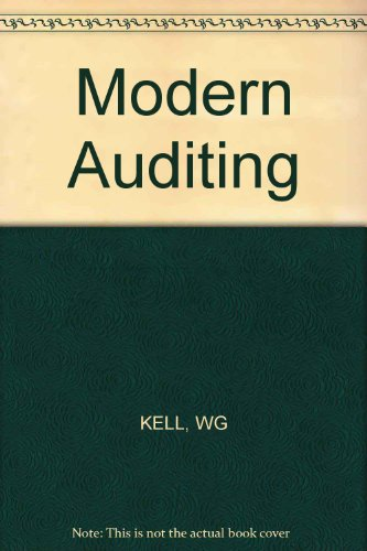 9780471819196: Modern Auditing