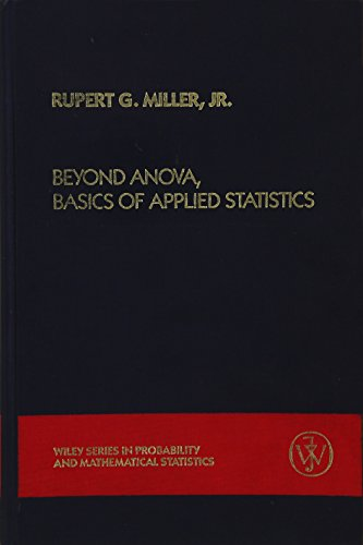 9780471819226: Beyond Anova, Basics of Applied Statistics (Wiley Series in Probability and Statistics)