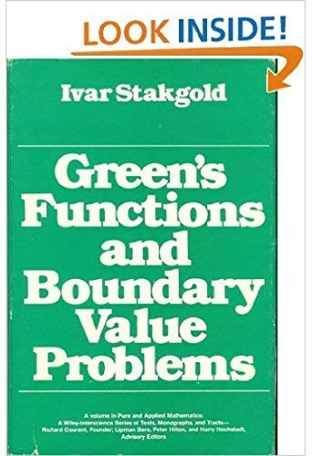9780471819677: Green's Functions and Boundary Value Problems (Pure and Applied Mathematics)