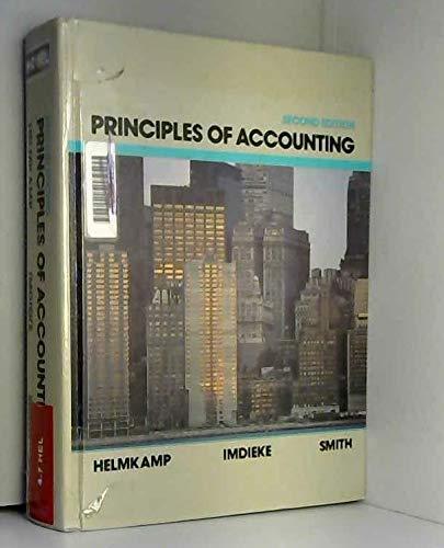 9780471820185: Principles of Accounting