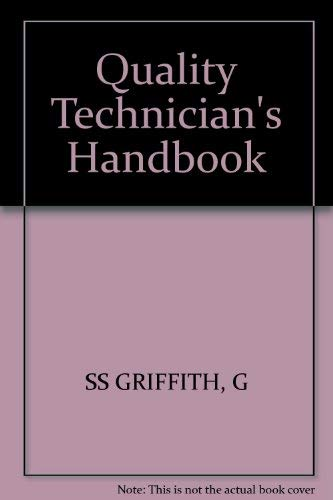 9780471822585: Quality Technician's Handbook