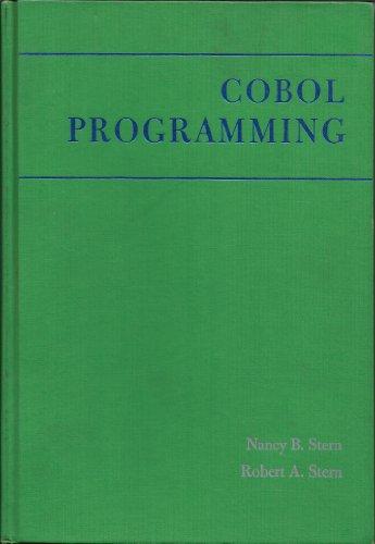 9780471823179: Cobol Programming