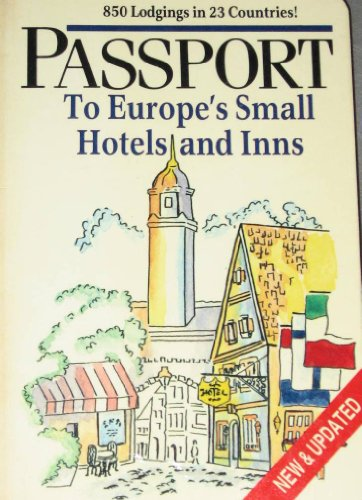 9780471823551: Passport to Europe's Small Hotels and Inns (A Passport publications book)